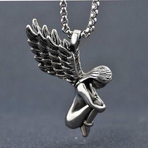 Other - Guardian Angel Titanium Unisex Pendant